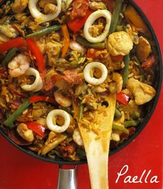 ... Paella Recipe | Mexican Food Recipes | gotta eat | Pinterest | Paella