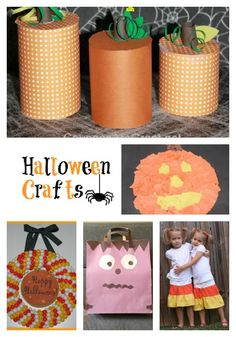 Halloween Crafts: From Tulle Wands to Egg Carton Spiders there is something for everyone (preschool to adults).