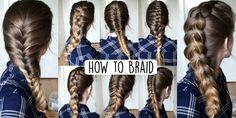 How to Braid Your Own Hair (For Beginners)!