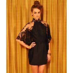 Lover Black Mademoiselle Dress