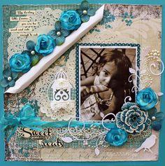 Sweet Treats *Funtoolas* - Scrapbook.com I would adapt a bit though don't like the white roll over