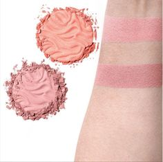 Butter Blush colors! Add color to cheeks and a smooth buttery glow with these new additions.