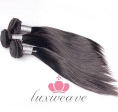 3 Pcs Brazilian Virgin Hair Silky Straight Hair Weaves Extensions