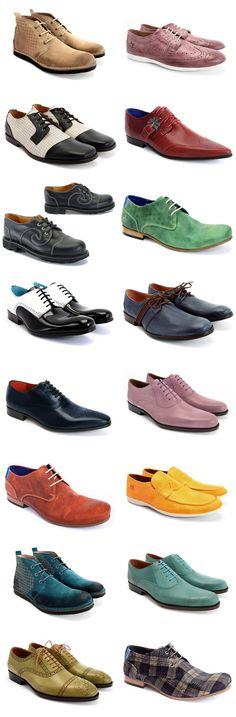 Funky Mens Footwear From Fluevog