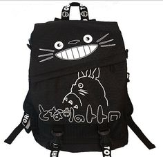 My neighbor Totoro Backpack Hayao miyazaki Bag by Animebag on Etsy, $38.99