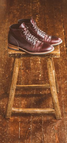 Thursday Boots. Limited edition boot. #boots #boot #reclaimedwood #ruggedstyle #dapper @thursdayboots
