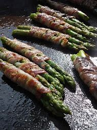 ASPARAGUS WRAPPED IN SMOKY PANCETTA