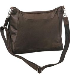 GTM-90 Concealed Carry Large Hobo Sac-Brown  #GUNTOTENMAMAS #Hobo