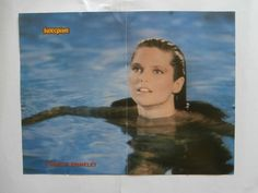 Christie Brinkley Paul Keenan Poster from Greek Mags clippings 1970s 1990s | eBay