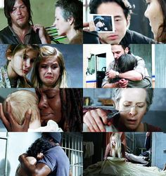 """When you care about people, hurt is kinda part of the package..."" Beth Greene"