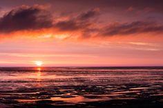 Reflexiones - Last reflexiones at North See evening.
