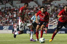 Partido de ida, 4tos de final, Clausura 2013, Necaxa 3-2 Veracruz