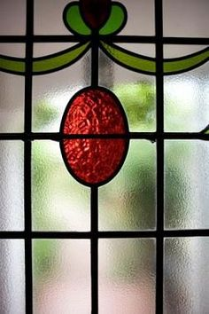 Faux Stained Glass Window.  I did a rose pattern in my bathroom.  Having an older home, and running out of ideas, making a faux stained glass window provides privacy in a bathroom.