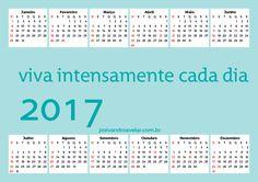 CALENDÁRIO 2017 VIVA INTENSAMENTE CADA DIA 3