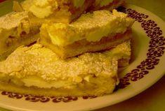 Křehké jablkovo-tvarohové řezy French Toast, Pie, Sweets, Breakfast, Food, Torte, Morning Coffee, Cake, Gummi Candy