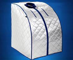 Transportabel Infrarød Sauna XL Deluxe 1000 Watt Dybdevarme Skånende Effektiv Varmebehandling Udrensning