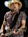 Jason Aldean, NASHVILLE, TN - JUNE 08: Musician Jason Aldean performs during the 2013 CMA Music Festival on June 8, 2013 at LP Field in Nashville, Tennessee. (Photo by Christopher Polk/Getty Images), 2013