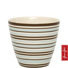 Greengate latte cup Penny brown