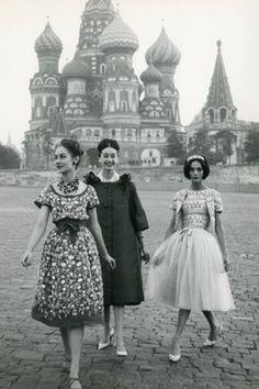 "hollyhocksandtulips: "" Russia, 1950's """