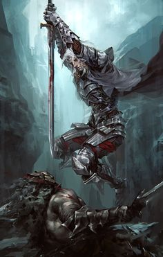 Amund [Asesino by on deviantART] Fantasy Warrior, Fantasy Art Men, Fantasy Concept Art, Fantasy Kunst, Fantasy Story, High Fantasy, Fantasy Rpg, Medieval Fantasy, Fantasy Artwork