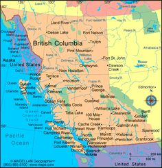 "British Columbia, Canada, (aka ""B. British Columbia, Western Canada, Vancouver Island, Canada Travel, Skiing Colorado, Ski Resorts, Estes Park, Jackson Hole, Viajes"