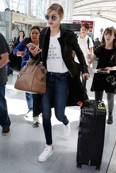 The Platform Sneakers Gigi Hadid Made So Chic via @WhoWhatWearUK