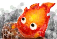 Calcifer by ~skell-cow on deviantART