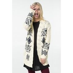 Shop sweaters & cardigans at Ardene for button-front layers and pullover options. Off Shoulder Fashion, Sweater Shop, Girls Sweaters, Black Knit, Girls Shopping, Knit Cardigan, Kimono Top, Fashion Outfits, Clothes