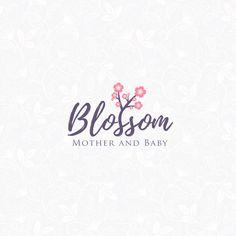 projekt logo Blossom  #logo #nlogo #flower #design