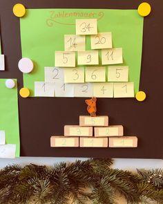 """Lehrerin ✨ auf Instagram: """"Zahlenmauern! Ein tolles Thema, welches natürliche Differenzierung ermöglicht und ich mit allen drei Jahrgängen gemeinsam bearbeiten kann!…"""" Advent Calendar, Holiday Decor, School, Instagram, Differentiation, Math Resources, Teachers, Advent Calenders"""