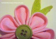 Easy Kanzashi Flower