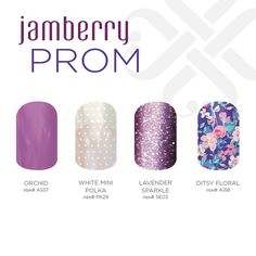 What's your prom style? Browse and shop all of our fabulous designs today at prettylady1805.jamberrynails.net!
