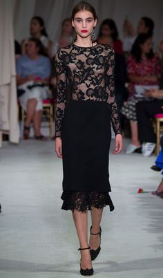 Oscar de la Renta Fashion Week de New York