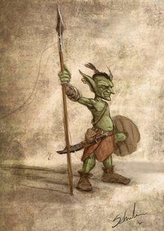 Goblin concept by Schnedler.deviantart.com