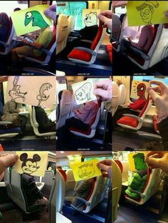 Bored on a bus...