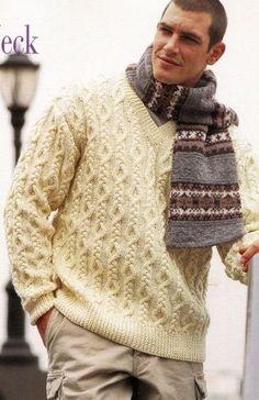 МУЖСКОЙ ПУЛОВЕР Vogue Knitting ,