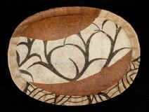 Platter Arabesque No. 43 x Washi-covered bamboo, kakishibu, katazome by Masamichi Terada Japanese Paper, Wabi Sabi, Arabesque, Washi, Bamboo, Paper Crafts, My Style, Garden, Paper