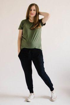 Union St Tee + Hudson Pants | The Doing Things Blog