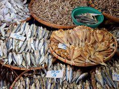Dried fish anyone? Hilongos market, Leyte, the Philippines.