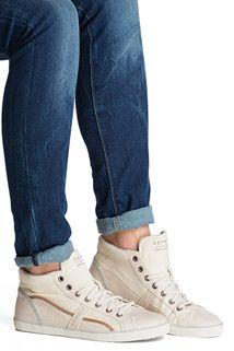 Material-Mix Sneaker