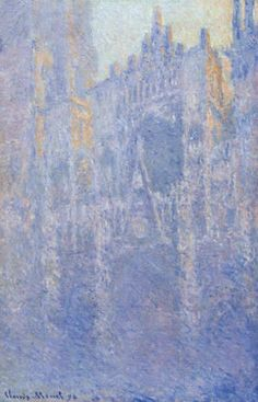 Monet Morning on the Seine 1898 10 x 8 Inch Mounted Art Print
