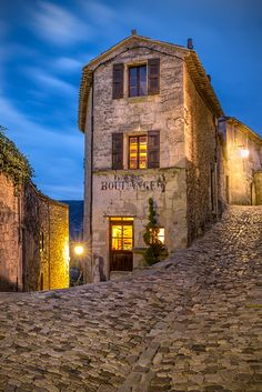 """""""Lacoste Boulangerie"""" - The old bakery in Lacoste, Vaucluse, France is now a library for an American college by Jim Nilsen on 500px"""