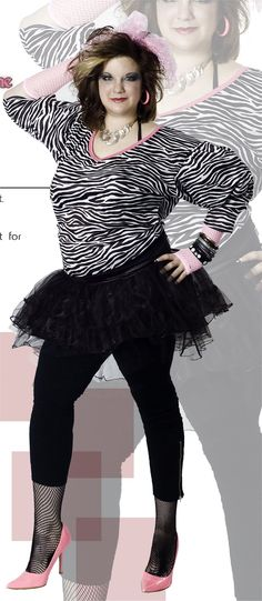 Plus Size 80s Fashion Plus Size S Costumes