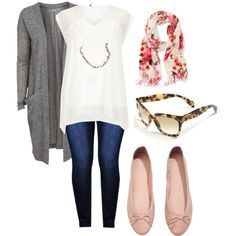 """""""Cool Spring - Plus size fashion style"""" by roguesatine on Polyvore"""