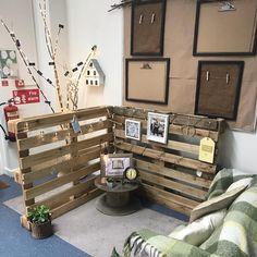 A Reggio-Inspired Classroom Design – Kinderland Tour Part 2 Reggio Emilia Classroom, Reggio Inspired Classrooms, Reggio Classroom, Toddler Classroom, Outdoor Classroom, New Classroom, Classroom Design, Kindergarten Classroom, Classroom Themes