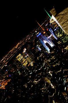 new york at the night
