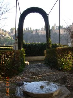 carmen granada garden   typical Carmen in Granada