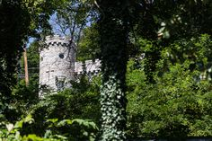 One of the stranger parts of the town, the Berkeley Springs Castle overlooks the state park.