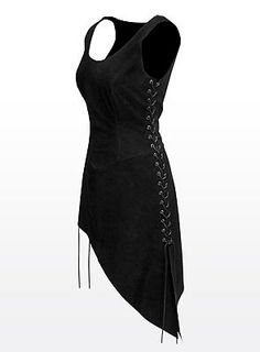Look at it! Asymmetric hem, adjustable for fit, and it's even in my color! Love!
