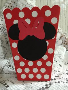 FREE SHIPPING  8 Red Mini Minnie Mouse Birthday  Baby Shower